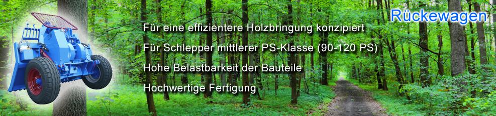 Banner Rückewagen